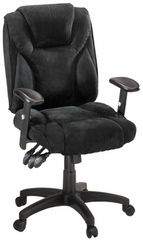 Gruga Fully Ergonomic Chair Fabric Black - Sauder Furniture - 404252