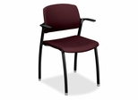 Guest Arm Chair - Wine - HONFGC2ENT69T