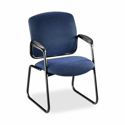 Guest Chair - Blue/Black - HON4606BP90T