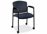 Guest Chair - Bluestone/Black - HON4615BP90T