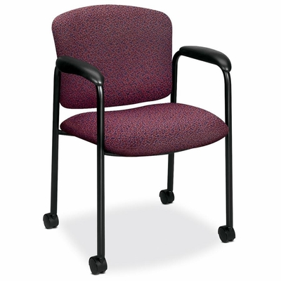 Guest Chair - Claret/Black - HON4615BP69T