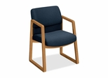 Guest Chair - Harvest/Blue - HON2403CAB90