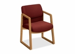 Guest Chair - Harvest/Burgundy - HON2403CAB62