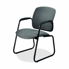 Guest  Chair - Iron/Black - HON4606BP19T