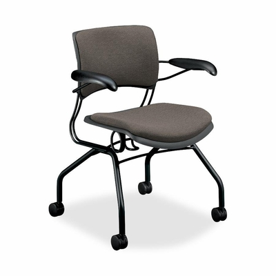 Guest Chair - Lava Fabric/Black Frame - HON4316BE19T