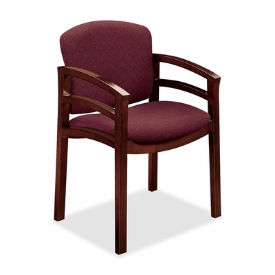 Guest Chair - Mahogany/Wild Rose - HON2112NBE62