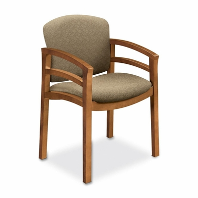 Guest Chair - Medium Oak/Oatmeal - HON2112MBE16