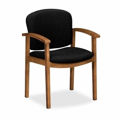 Guest Chair - Medium Oak/Raven - HON2111MBE11