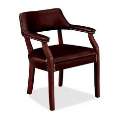 Guest Chair - Oxblood Vinyl - HON6551NEJ65