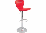 H2 Bar Stool Red - Lumisource
