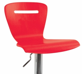 H2 Barstool Red - LumiSource - BS-H2-R