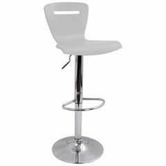 H2 Barstool Silver - LumiSource - BS-H2-SV