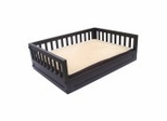 Habitat 'n Home Mission Dog Bed in Espresso - NewAgeGarden