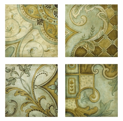 Haden Wall Canvas (Set of 4) - IMAX - 27335-4
