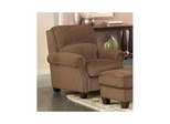 Hadley Amber Upholstered Club Chair - Largo - LARGO-ST-F1211-403