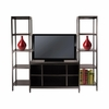 Hailey 3Pc TV Stand Shelf Set - Winsome Trading - 92340