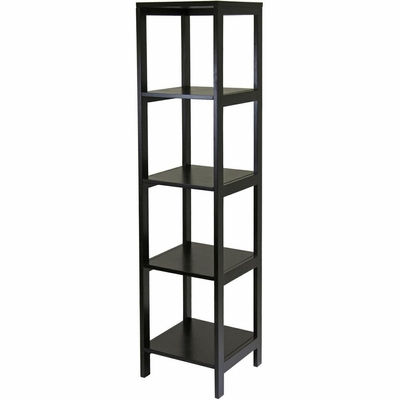Hailey 5-Tier Tower Shelf - Winsome Trading - 92615