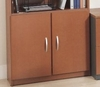 Half Height Door Kit (2 Doors) - Series C Auburn Maple Collection - Bush Office Furniture - WC48511