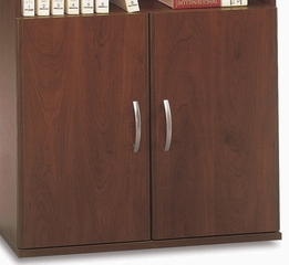 Half Height Door Kit (2 Doors) - Series C Hansen Cherry Collection - Bush Office Furniture - WC24411