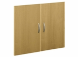 Half Height Door Kit (2 Doors) - Series C Light Oak Collection - Bush Office Furniture - WC60311