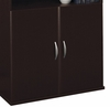 Half Height Door Kit (2 Doors) - Series C Mocha Cherry Collection - Bush Office Furniture - WC12911