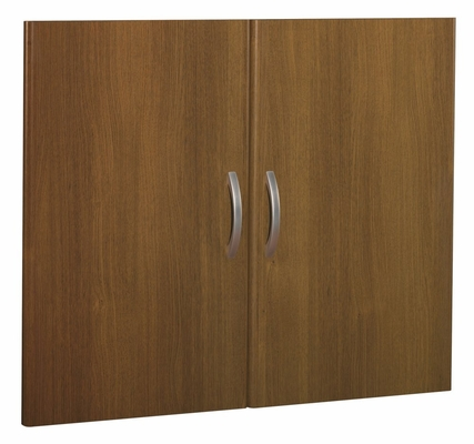 Half Height Door Kit (2 Doors) - Series C Warm Oak Collection - Bush Office Furniture - WC67511