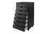Halifax Closet Cabinet in Black - Winsome Trading - 20792