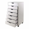 Halifax Closet Cabinet in White - Winsome Trading - 10792