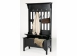 Hall Tree and Storage Bench - 5650-49