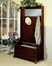 "Hall Tree with Storage Bench - ""Heirloom Cherry"" - Powell Furniture - 998-299"