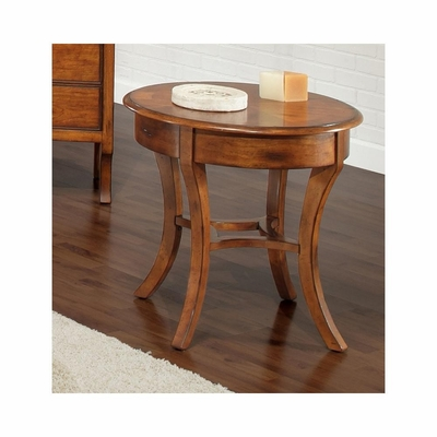 Hamilton Round End Table - Largo - LARGO-ST-T844-124