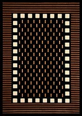 "Hand Carved Machine Woven Rug - 5' 3"" x 7' 6"" - Terra 719-26 - International Rugs"