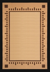 "Hand Carved Machine Woven Rug - 5' 3"" x 7' 6"" - Terra 720-26 - International Rugs"