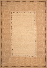 "Hand Carved Machine Woven Rug - 5' 3"" x 7' 6"" - Terra 830-22 - International Rugs"