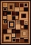"Hand Carved Machine Woven Rug - 5' 3"" x 7' 6"" - Terra 9293-26 - International Rugs"