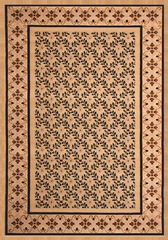 "Hand Carved Machine Woven Rug - 7' 9"" x 10' 6"" - Terra 710-22 - International Rugs"