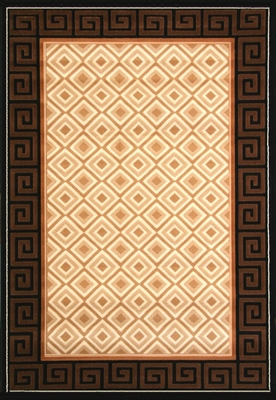 Hand Carved Machine Woven Rug - 7' 9