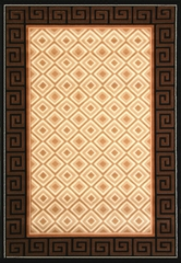 "Hand Carved Machine Woven Rug - 7' 9"" x 10' 6"" - Terra 724-26 - International Rugs"