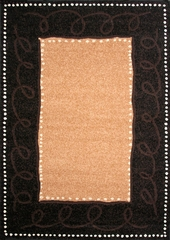 "Hand Carved Machine Woven Rug - 7' 9"" x 10' 6"" - Terra 830-26 - International Rugs"