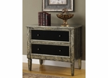 Hand Painted Cabinet with 2 Drawers - 950229