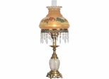 Hand Painted Hurricane Table Lamp - Dale Tiffany
