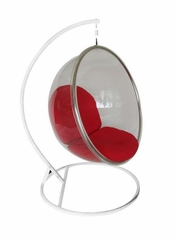 Hanging Bubble Chair - GEF-158-RED