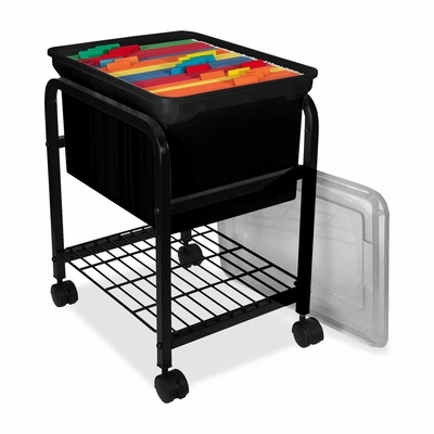 Hanging File Sorting Cart - Black - INN55805