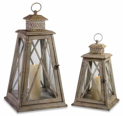 Hanging Lanterns (Set of 2) - IMAX - 56173-2
