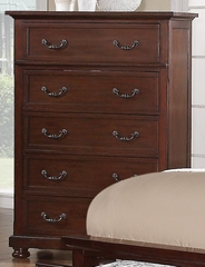 Hannah Chest in Brown Cherry - 200835