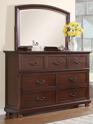 Hannah Dresser in Brown Cherry - 200833