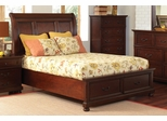 Hannah King Storage Bed in Brown Cherry - 200831KE