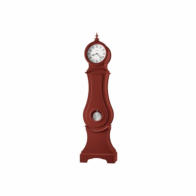 Hannover Chili Red Grandfather Clock - Howard Miller
