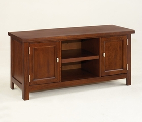 Hanover TV Stand in Cherry - Home Styles - 5532-09