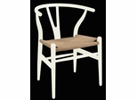 Hans Wegner Wishbone Chair in White - DC-541-WHITE